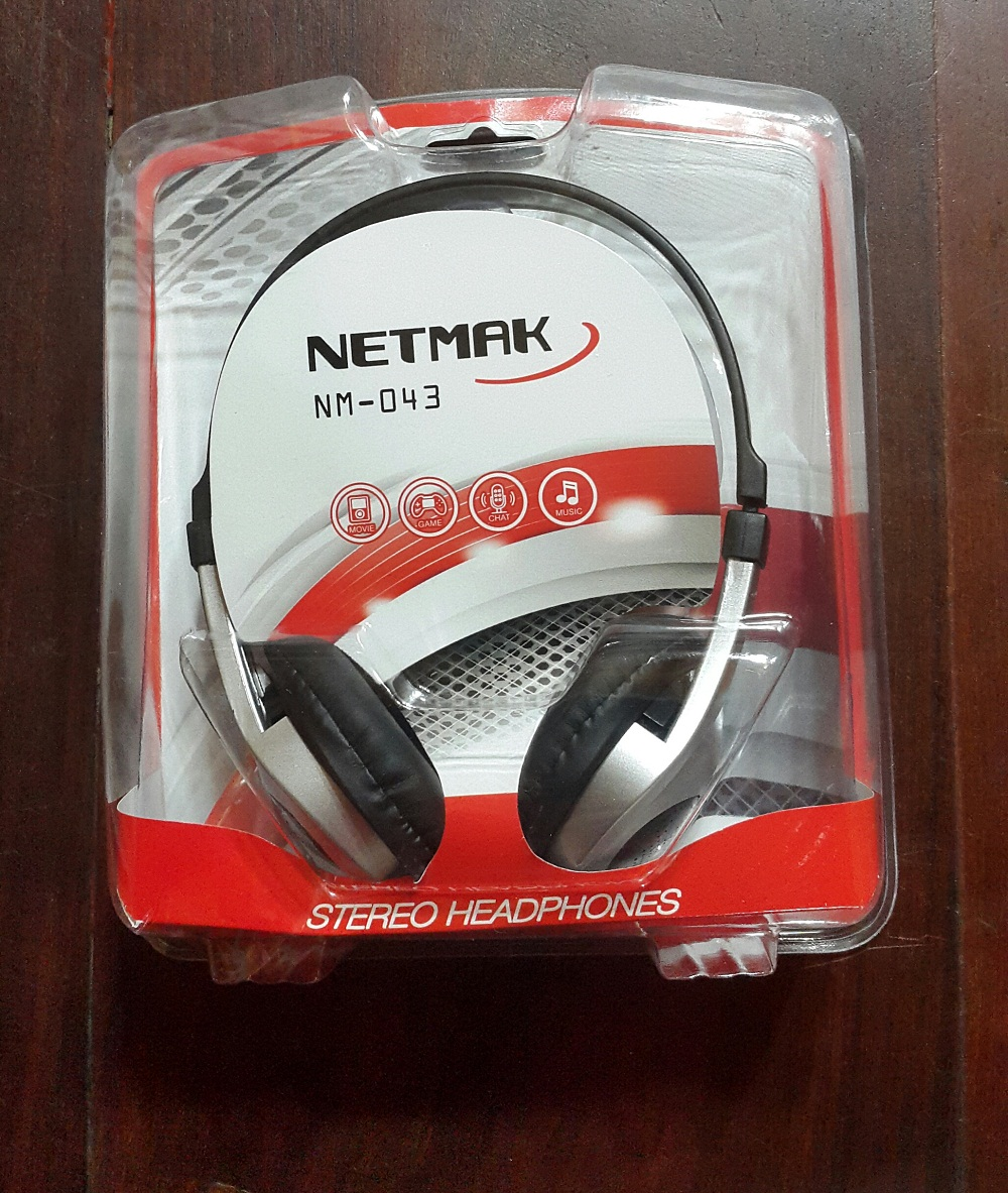 Auricular con mic NETMAK NM-043