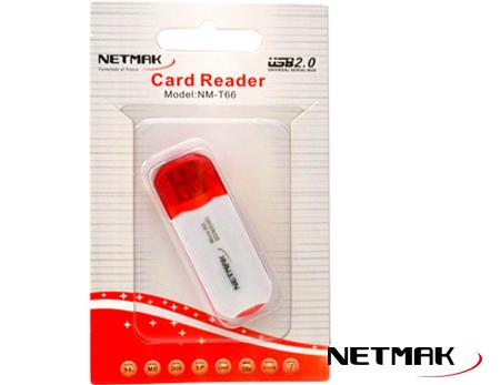 Lector externo de tarjetas Netmak NM-T66