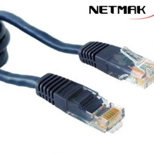 Cable de Red UTP Pach Cord 1MT Netmak