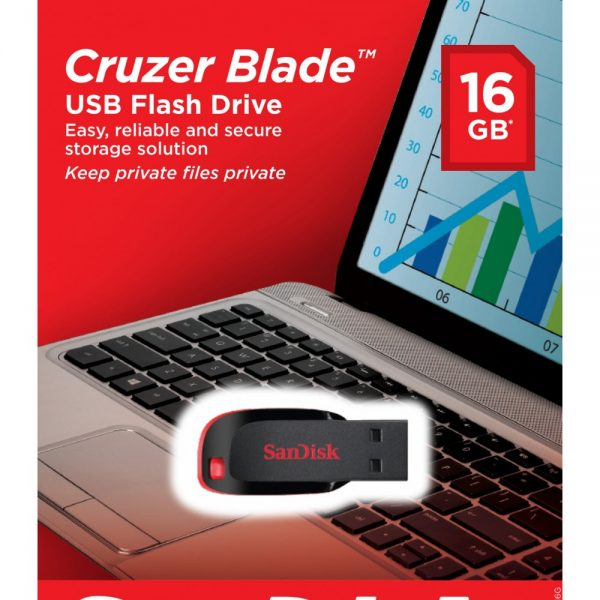 Pendrive SanDisk 16GB Cruzer Blade