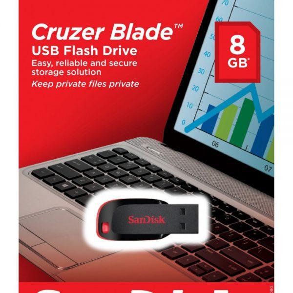 Pendrive SanDisk 8GB Cruzer Blade