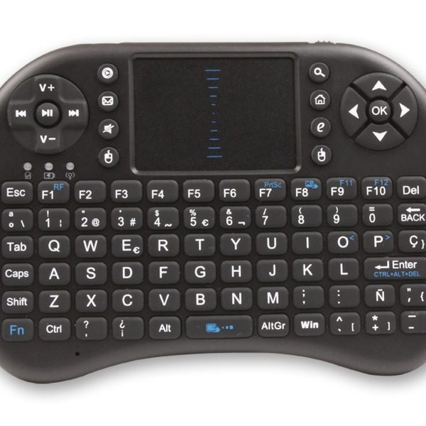 Teclado Compacto para Smart Tv/Pc Noga Nkb-k2 Inalambrico Touchpad