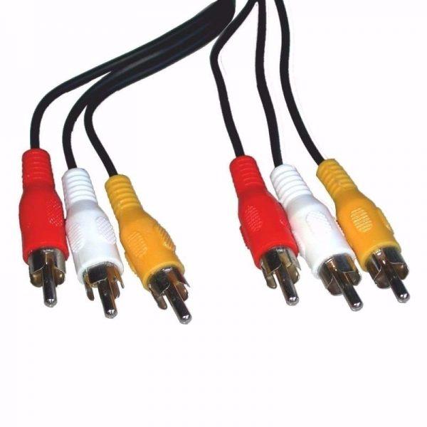 Cable 3 RCA A 3 RCA (3 Mts)