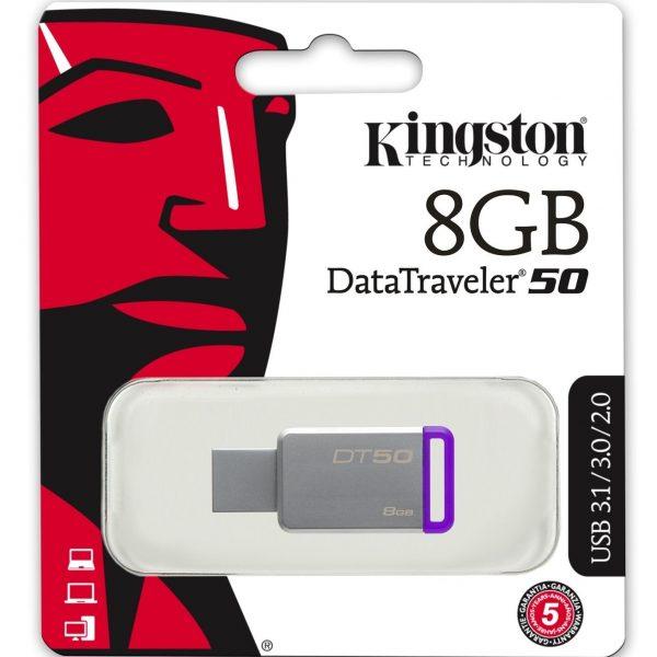 Pendrive Kingston 8gb DT50