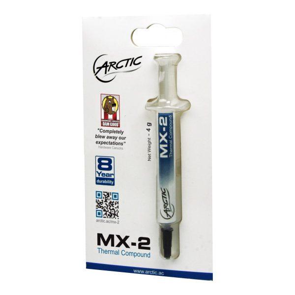 Pasta Térmica Arctic Cooling MX-2 Compuesto Térmico 4grs
