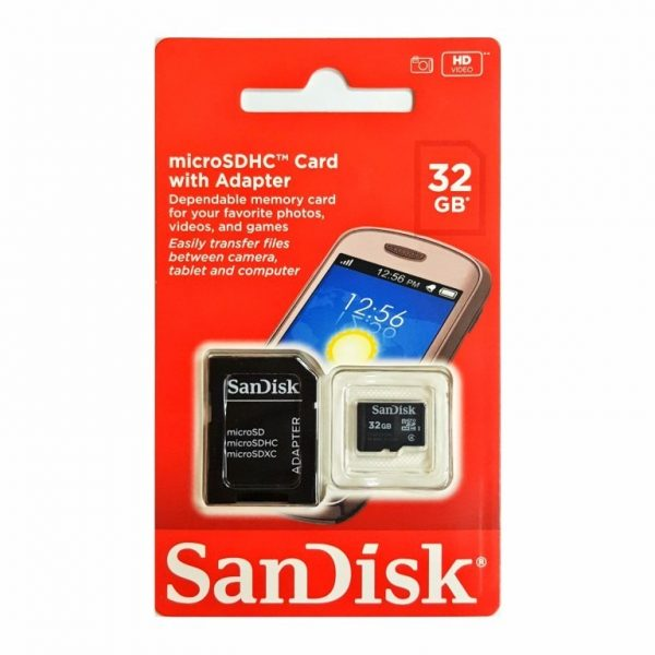 Tarjeta MicroSD Sandisk 32gb