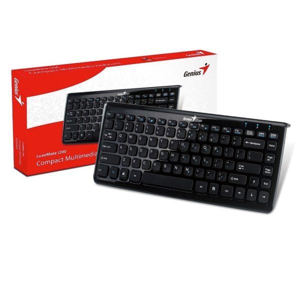 Teclado Genius LuxeMate i200 Alfabetico para Notebook USB