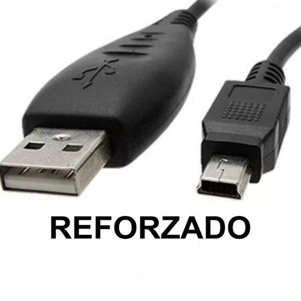 Cable USB Macho A Mini USB V3 Reforzado (Ideal para parlantes)